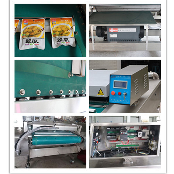 DZ-1090B Continuous Belt Type Automatic Vacuum Packaging Machine